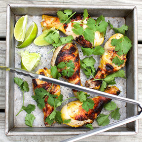 Food & Wine: Grilled Curried Chicken Legs