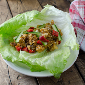 Food & Wine: Healthy Tilapia Lettuce Wraps