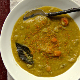 Food & Wine: Indian Spiced Split Pea Soup