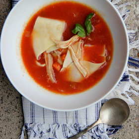 Food & Wine: Italian Chicken Noodle Soup