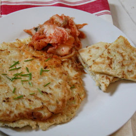 Food & Wine: Korean Cabbage Pancakes