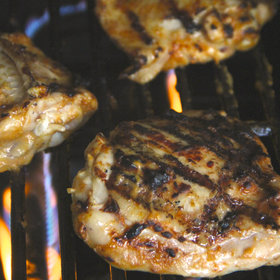 Food & Wine: Mango BBQ Chicken