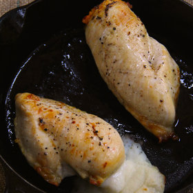 Food & Wine: Mashed Potato Stuffed Chicken Breasts