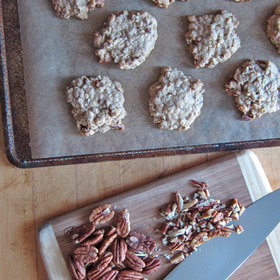Food & Wine: Oatmeal-Pecan Cookies