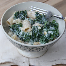 Food & Wine: Penne with Kale and Feta Cheese
