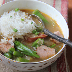 Food & Wine: Pork Tenderloin Gumbo