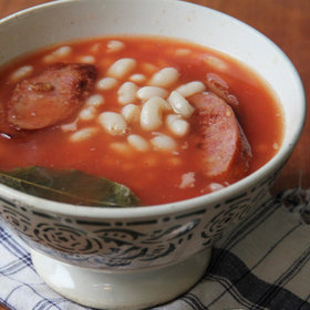mkgalleryamp; Wine: Portuguese Bean and Sausage Soup