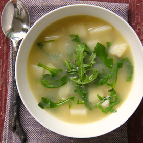 Food & Wine: Potato and Arugula Soup