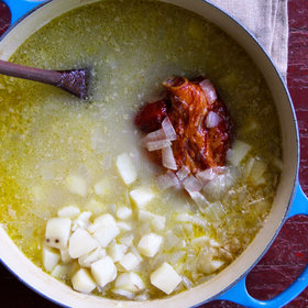 Food & Wine: Potato and Ham Hock Soup
