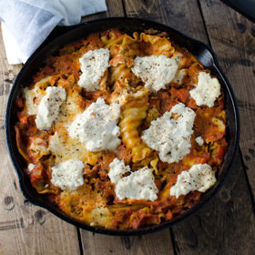 Food & Wine: Quick-and-Easy Skillet Lasagna
