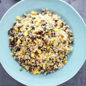 mkgalleryamp; Wine: Quinoa, Corn and Black Bean Salad