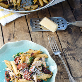 Food & Wine: Rustic Chicken and Chorizo Pasta