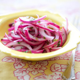 Food & Wine: Salsa Criolla (Peruvian Red Onion Relish)