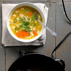 Food & Wine: Slow Cooker Chicken Noodle Soup