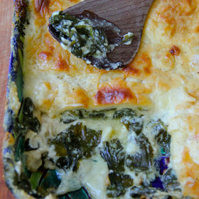 Food & Wine: Spinach Lasagna
