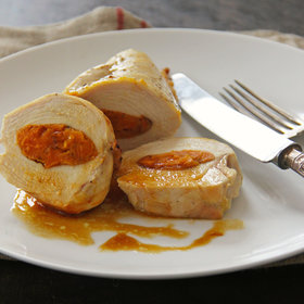 Food & Wine: Sweet Potato Stuffed Chicken Breasts