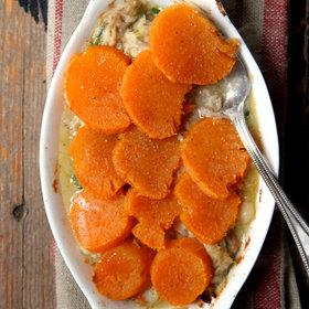 Food & Wine: Sweet Potato Topped Chicken Pot Pie