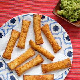 Food & Wine: Tequeños with Guacamole