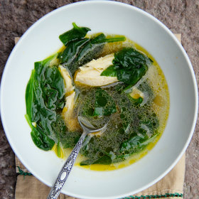 Food & Wine: Turkey and Spinach Soup