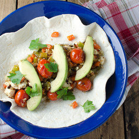 mkgalleryamp; Wine: Vegan Breakfast Burrito