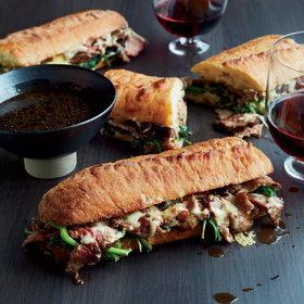 Food & Wine: French Dip with Onion Jus