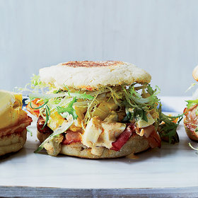 Food & Wine: Ham and Deviled Egg Breakfast Sandwiches