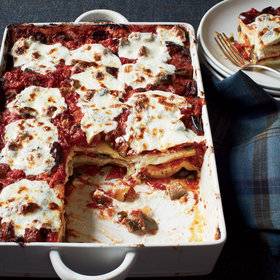 Food & Wine: Lasagna Puttanesca