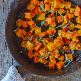Food & Wine: Butternut Squash with Brown Butter and Sage