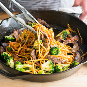 Food & Wine: Beef and Broccoli Chow Mein