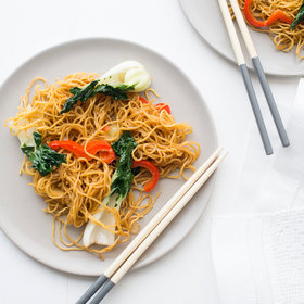 Food & Wine: Bok Choy Chow Mein