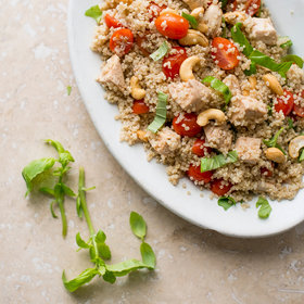 Food & Wine: Healthy Chicken and Quinoa Bowl