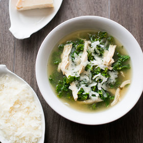 mkgalleryamp; Wine: Lemon Chicken and Kale Soup