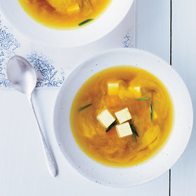 Food & Wine: Miso Soup with Turmeric and Tofu