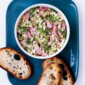 Food & Wine: Potted Ham with Cabbage and Pickles