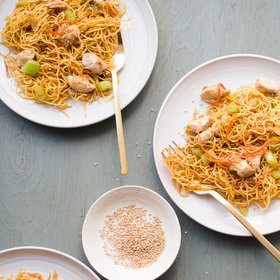 Food & Wine: Sesame Chicken Chow Mein