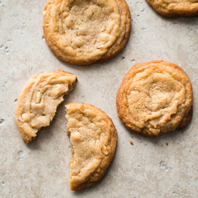 Food & Wine: Soft and Chunky Peanut Butter Cookies