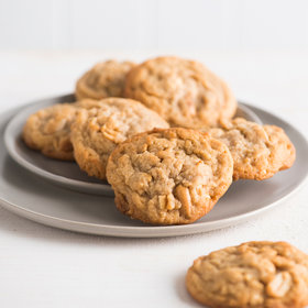 Food & Wine: Soft Peanut Butter Cookies with Roasted Peanuts