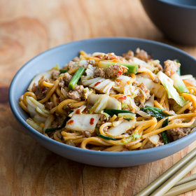 Food & Wine: Spicy Pork Chow Mein