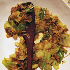 Food & Wine: Indian-Spiced Cabbage