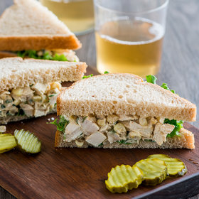 Food & Wine: Chicken and Corn Salad Sandwich