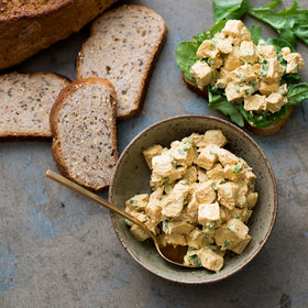 Food & Wine: Curry Chicken Salad Sandwich