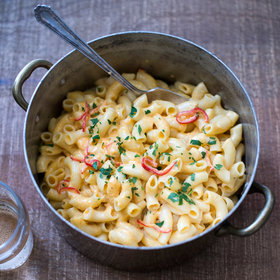 Food & Wine: Spicy Easy Stovetop Mac and Cheese
