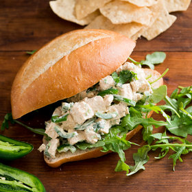 Food & Wine: Jalapeño Chicken Salad Sandwich