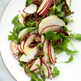 Food & Wine: Quinoa with Apples, Celery Root, Arugula, and Pecans