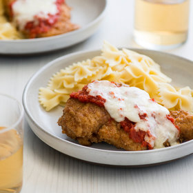 Food & Wine: Rye-Crusted Chicken Parmesan
