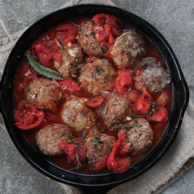 Food & Wine: Turkey-Quinoa Meatballs with Tomato Sauce