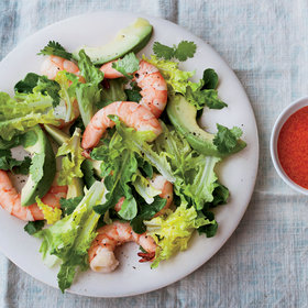 Food & Wine: Avocado-and-Shrimp Salad with Red Goddess Dressing