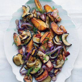 Food & Wine: Eggplant Potato Salad