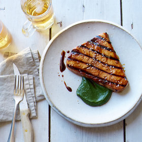 Food & Wine: Grilled Swordfish with Miso Sauce