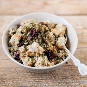 Food & Wine: Quinoa with Za'atar, Grilled Chicken and Dried Cranberries
